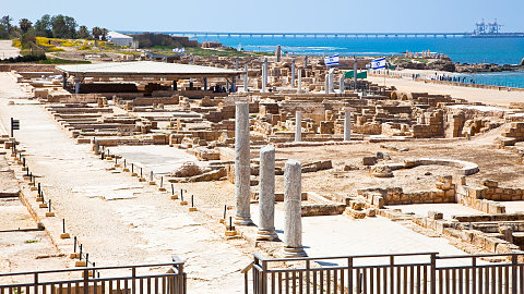 Caesarea, Mount Carmel and Tel Megiddo