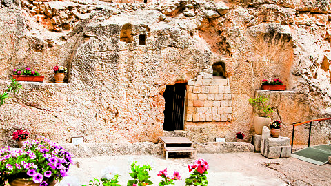 Old City, Sister's of Zion Church, Cardo, Pool of Bethesda - St. Anne's Church, Garden Tomb - Gordon's Calvary