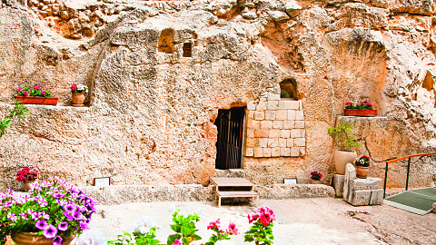 March 10 - Antonia's Fortress, Pool of Bethesda, Church of St. Anne, Via Dolorosa, Church of the Holy Sepulchre, Gordon's Calvary, Garden Tomb