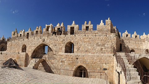 March 27 - Herod's Palace, Ben Yahuda Shopping Tour of Old City, City of David, Hezekiah's Tunnel - free time