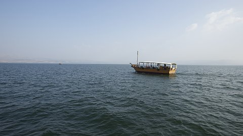 Sea of Galilee, Capernaum, Mount of Beatitudes, Gadara, Boat Ride, Jordan River
